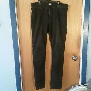 Paige women's black jeans size w32 inseam 30
